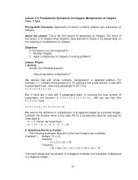 integer division word problems worksheets 2nd grade math word