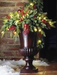 urn filler battery operated and berry christmas urn filler happy