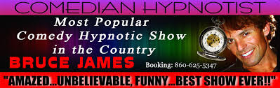 hypnotist for hire hire a hypnotist bruce comedian stage hypnosis