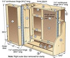 Tool Cabinet Wood Wood Tool Storage Cabinets Plans Diy Free Download Kitchen
