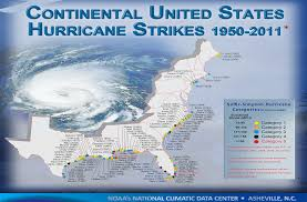 Map Of East Coast Florida by Tropical Cyclone Climatology