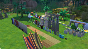 Backyard Items The Sims 4 Jungle Adventure Review Sims Community
