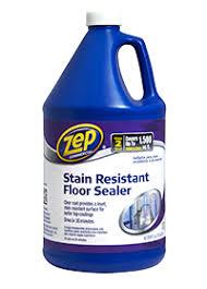 stain resistant floor sealer details