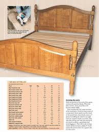 Oak Bed Oak Bed Plans U2022 Woodarchivist