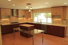 Two Color Kitchen Cabinets Updated Two Tone Kitchen Cabinets Trendshome Design Styling