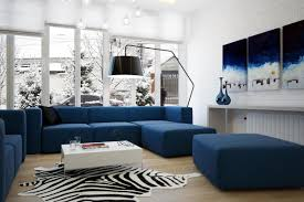 gallery of modern blue living room fantastic on home design styles