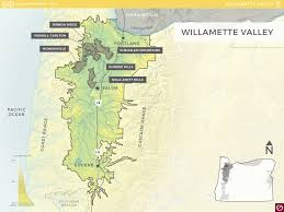 map of oregon wineries willamette valley oregon wine resource studio