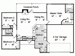 two bedroom ranch house plans eplans southwest house plan two bedroom 1300 square and 2