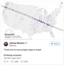 Maps Fall Challenge The Race To Create The Most Ridiculous Eclipse Map Is On Sfgate