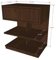 Woodworking Plans Bedside Table Free by Argie Bedside Tables U2013 Old Paint Design
