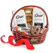 coffee gift basket the charmer coffee gift basket omar coffee