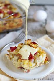 egg strata casserole 20 make ahead holiday breakfasts egg benedict eggs and breakfast