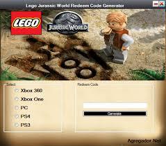 tutorial lego jurassic world ps3 lego jurassic world redeem code generator agregador web