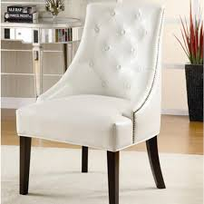 Armless Accent Chair Armless Accent Chair With Tufted Button Accents The Home