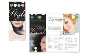 6 best images of medical spa brochure template hair salon