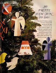 how to craft clever ornaments from paper 1960 click
