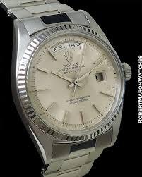 rolex white gold oyster bracelet images Rolex 1803 day date president 18k white gold oyster bracelet jpg