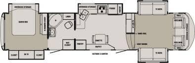 5th wheel front living room front living room 5th wheel floor plans esprit home plan