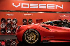 ferrari 488 custom vossen wheels ferrari 488 gtb vossen forgedprecision series