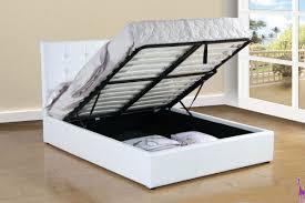 Storage Bed B183 White Monster Storage Bed