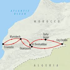 Map Of Morocco And Spain by Morocco Tours Holidays To Morocco On The Go Tours From Uk