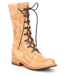 Bed Stu Bruges Bed Stu Dundee Combat Boots In Natural Lyst
