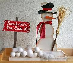 christmas wood craft wooden snowman snowballs for sale