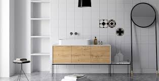 Bathroom Furniture Wood Modern Oak Wood Bathroom Mindsparkle Mag