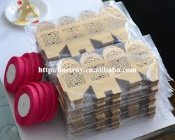 wedding candy favors pop up wedding favors candy box laser cut wedding candy cake box