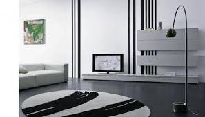 Curved White Sofa by White Sofa Color Along Black Color Floor Tiling Combine Curved