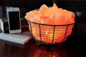 how does a pink himalayan salt lamp work natural air purifying