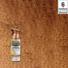 rust oleum universal 12 oz all surface hammered copper spray