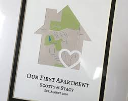 Gifts For First Apartment by Our First Apartment Gift For College Student First Place