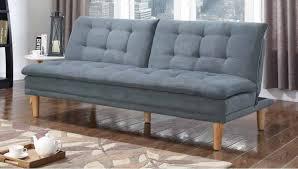 grey split back adjustable sofa futon 503956 savvy discount