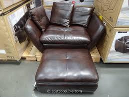 pulaski knox accent chair and storage ottoman at costco comfort