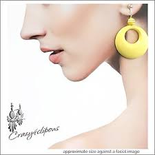 hoop clip on earrings clip on hoop earrings for non pierced ears crazy4clipons