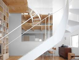 case house a daring loft style home with playful twisting