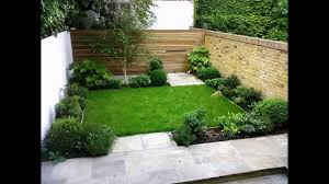Landscaping Small Garden Ideas by Cool Small Back Garden Designs Youtube