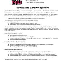 What Is A Objective On A Resume Splendid Design What Is An Objective In A Resume 15 25 Best Ideas