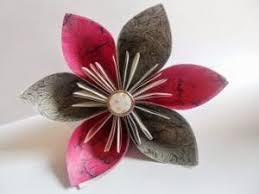cara membuat origami bunga yang indah rumah tanti kusudama origami ball