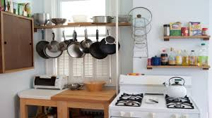 Kitchen Pan Storage Ideas by Small Space Kitchen Design Youtube