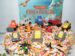 amazon disney planes fire rescue movie figure deluxe cake