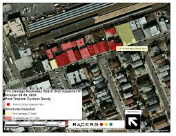 Street Map Of Queens New York by Fires During The 2012 Hurricane Sandy In Queens New York A First