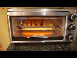 Toaster Ovens Rated Black U0026 Decker To1303sb 4 Slice Toaster Oven Review Youtube