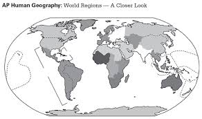 Regions World Map by Ap World Geography Maps Diagram Free Printable Images World Maps