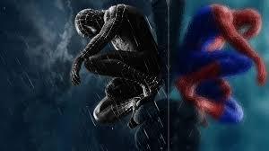 black spiderman iphone wallpapers hd pixelstalk net