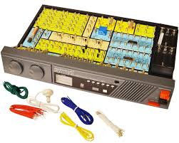 a modern rebuild of the radio shack 150 in one electronics kit