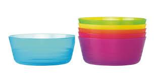 aliexpress buy 6pcs pack colored plastic bowls