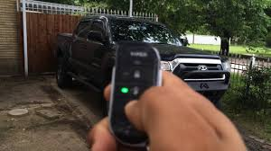 remote start toyota tacoma viper 5806v 2 way security and remote start system on 2014 toyota
