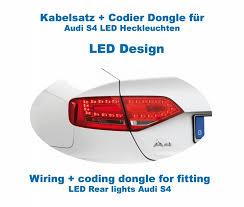 audi a4 tail lights coding dongle led rear lights for audi a4 s4 sedan